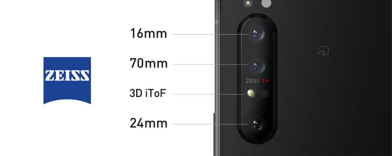 Xperia 1 II カメラ